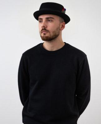 Sweatshirt Chauvage de couleur noir