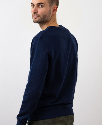 Sweatshirt Chauvage de couleur French Navy