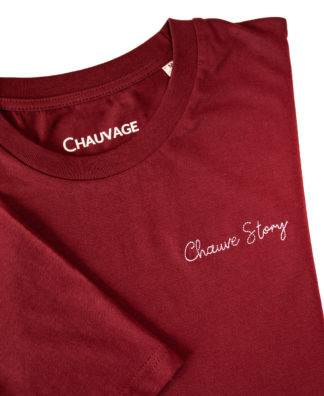 T-shirt Chauvage Chauve Story personnalisable