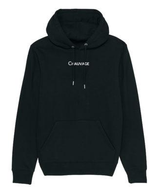 Hoodie Chauvage de couleur Black