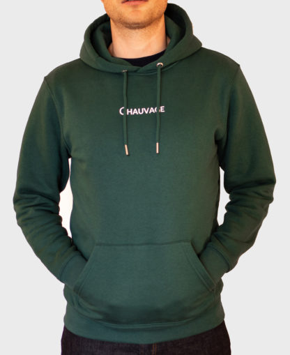 Hoodie Chauvage de couleur Glazed Green
