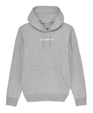 Hoodie Chauvage de couleur Heather Grey