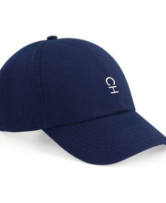 Casquette CH de couleur bleu marine