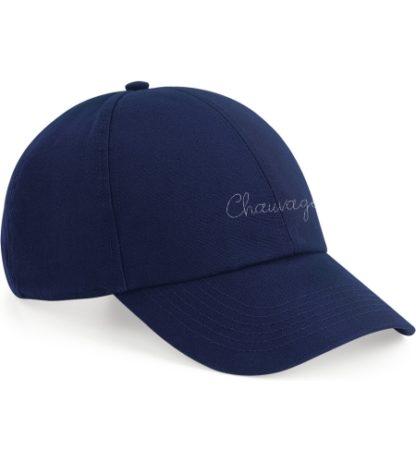 Casquette Chauvage de couleur bleu marine