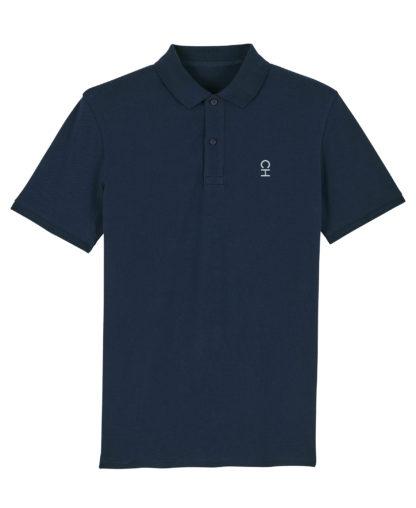 Polo Chauvage Bleu marine