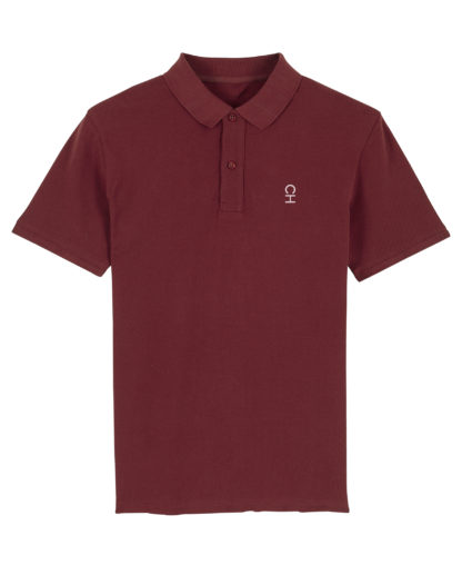 Polo Chauvage Rouge bourgogne