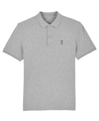 Polo Chauvage Gris chiné